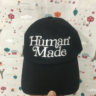 A BATHING APE - girls don't cry HUMAN MADE キャップ ユニセックス