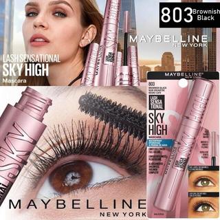 MAYBELLINE - 国内未発売●メイベリン最新 マスカラ SKY HIGH スカイハイ 803 茶黒