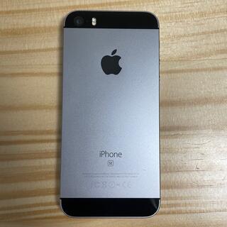 Apple - iPhone SE第一世代 64G black SIMFREE