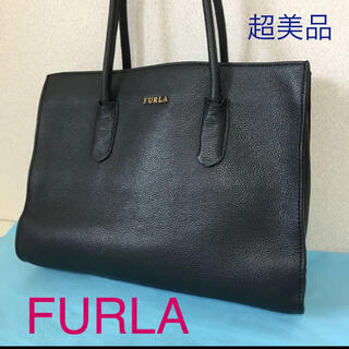 Furla - FURLA‼️超美品(^^)BLACKレザートート‼️