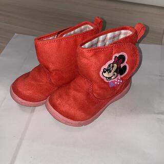 ディズニー(Disney)のショートブーツ 子供用 ディズニー ミニー(ブーツ)