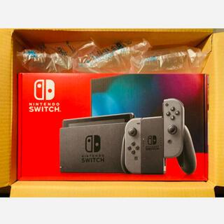 Nintendo Switch - 送料無料 5月購入 新品 店舗印あり 任天堂 スイッチ 本体 グレー