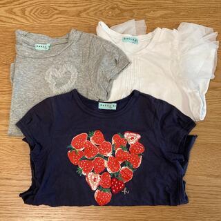 ハッカキッズ(hakka kids)のTシャツ キッズ ハッカキッズ 3枚セット(Tシャツ/カットソー)