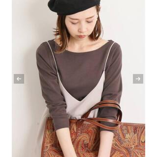イエナ(IENA)のAURALEE IENA 別注ボートネックTシャツ  (Tシャツ(長袖/七分))