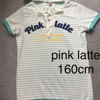 ピンクラテ(PINK-latte)のピンクラテ PINK LATTE ワンピ 160cm(ワンピース)