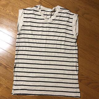 ジーユー(GU)のGUボーダー Tシャツ(Tシャツ/カットソー(半袖/袖なし))