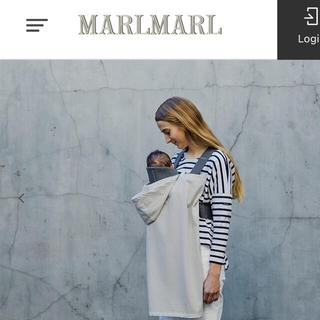 マールマール MARLMARL 夏用ベビーカバー 完売商品 未使用