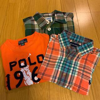 Ralph Lauren - ラルフローレン 、RUGGED WORKS 半袖 3枚セット 100 男の子