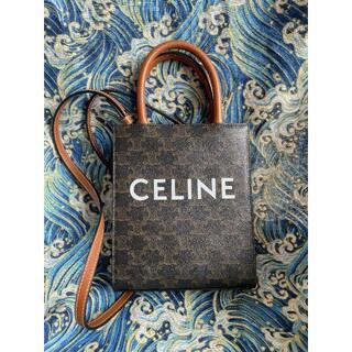 celine - CELINE セリーヌ ハンドバッグ ミニ バーティカルカバ トリオンフ