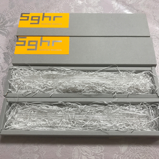 スガハラ(Sghr)のスガハラ ガラス製ストロー マイ ストロー 2本セット sghr(グラス/カップ)