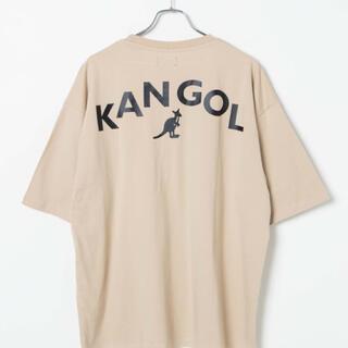 KANGOL - 未使用タグ付 WEGO KANGOL コラボバックプリントTシャツ S 男女兼用