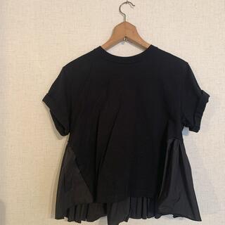 ENFOLD - CLANE クラネ バックフリルTシャツ サイズ1
