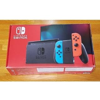ニンテンドースイッチ(Nintendo Switch)の任天堂 Switch 本体 新型モデル 動作確認済み スイッチ(家庭用ゲーム機本体)