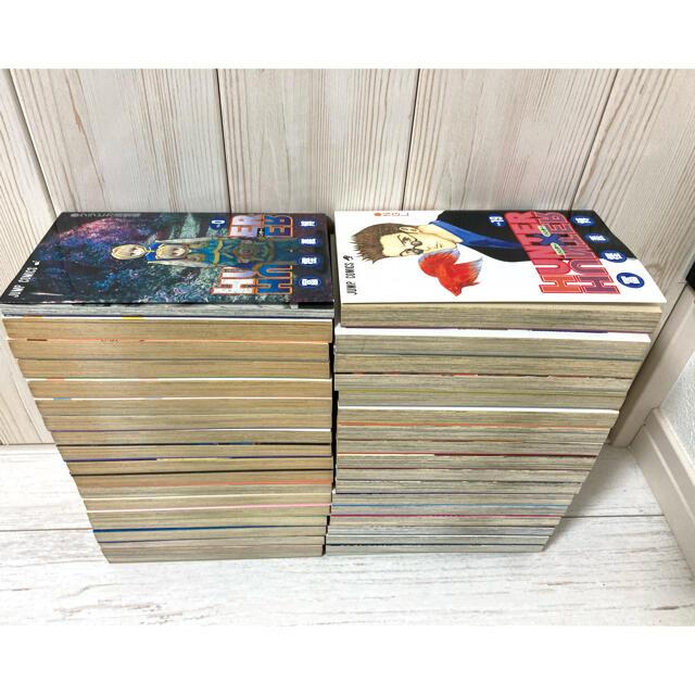 集英社(シュウエイシャ)のHunter×Hunter(ハンター・ハンター)全巻+おまけ4冊 エンタメ/ホビーの漫画(全巻セット)の商品写真