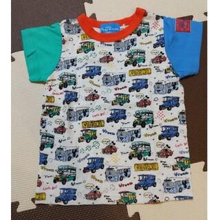 ディズニー(Disney)の【未使用】ディズニーリゾート ミッキーTシャツ 100(Tシャツ/カットソー)