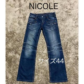 ニコルクラブフォーメン(NICOLE CLUB FOR MEN)のNICOLE CLUB FOR MEN   2way ジーンズ   サイズ44(デニム/ジーンズ)