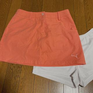 PUMA - PUMA ゴルフウェア スカート L