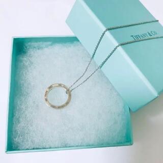Tiffany & Co. - 美品 ティファニー リングネックレス サークルミディアム ペンダント