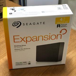 エクスパンション(EXPANSION)のシーゲート24時間録画対応 4TB HDD(ブルーレイレコーダー)