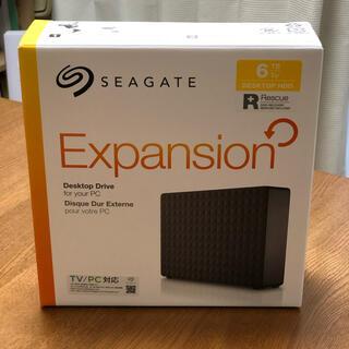 エクスパンション(EXPANSION)のシーゲート 6TB HDD 24時間録画対応(ブルーレイレコーダー)