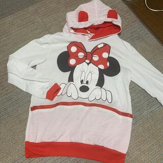 ディズニー(Disney)のミニーちゃんパーカー Mサイズ(ジャケット/上着)