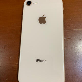 Apple - iphone8 64GB gold simフリー 本体のみ