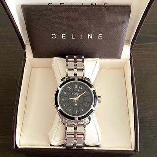 celine - 【大特価‼︎】セリーヌ ラヴェニュー腕時計 セラミック マカダム柄 ブラック🎀