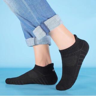 【新品未使用】靴下 6足組 男女兼用 25.0〜27.0cm 人間工学 吸汗通気(その他)