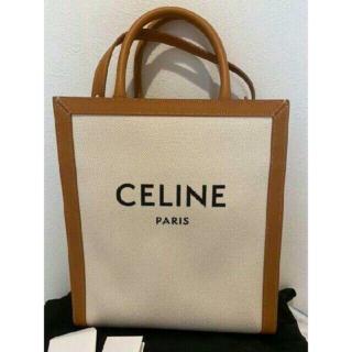 celine - CELINE バーティカルキャンバスバッグ ナチュラル