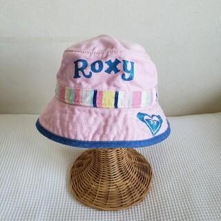 ロキシー(Roxy)のROXY ロキシーキッズ キャンパスロゴ ハット ピンク(帽子)