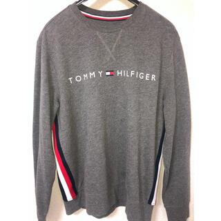 TOMMY HILFIGER - TOMMY HILFIGER ロンT グレー トレーナー 古着