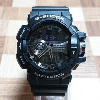 G-SHOCK - 美品【CASIO/G-SHOCK】デジアナ メンズ腕時計 GA-400GB