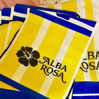 アルバローザ(ALBA ROSA)のALBAROSA ショッパー 5枚(その他)