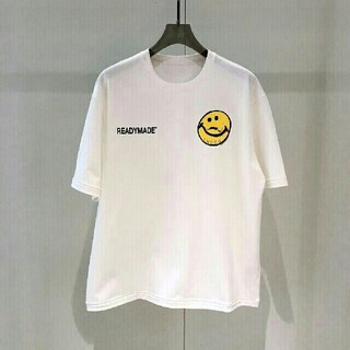LADY MADE - READYMADE SMILE Tシャツ Lサイズ
