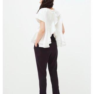 ドゥロワー(Drawer)のyori バッグフリルブラウス白(シャツ/ブラウス(半袖/袖なし))