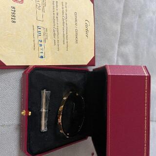 Cartier - カルティエ ラブブレス ゴールド即発送可能