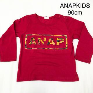 アナップキッズ(ANAP Kids)のANAPKIDS 90cm 長袖 ロンT(Tシャツ/カットソー)