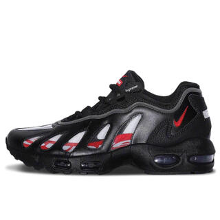 NIKE - Supreme × Nike Air Max 96 Black 27cm