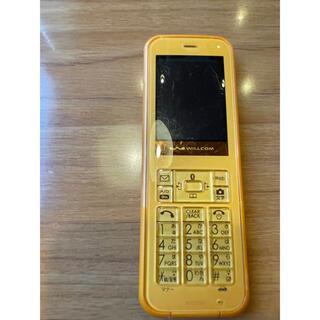 WILLCOM wx03sh(携帯電話本体)
