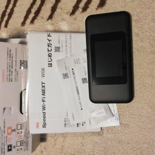 ファーウェイ(HUAWEI)のspeed wifi next w06(その他)