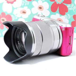 ソニー(SONY)の❤小型軽量ボディ❤SONY NEX-C3❤スマホに送れる❤液晶可動式❤大人気❤(ミラーレス一眼)