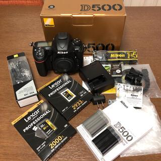 Nikon - Nikon ニコンD500 美品