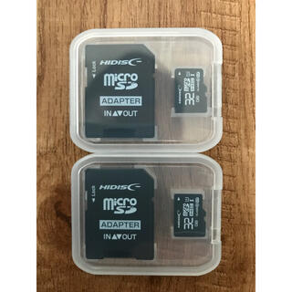 microSDカード 32GB[2枚セット] (SDカードとしても使用可能!)(PC周辺機器)