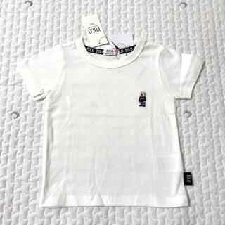 しまむら - 【新品未使用タグ付き】ポロベビー ポロベア Tシャツ 100 ホワイト 白