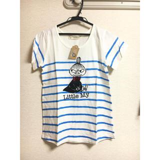 アフタヌーンティー(AfternoonTea)の‼️MOOMIN✖︎Afternoonteaリトルミィ半袖TシャツサイズM②(Tシャツ(半袖/袖なし))