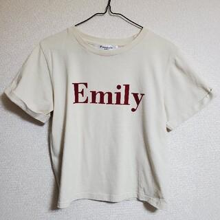 エムズエキサイト(EMSEXCITE)のemsexcite Retrogirl Tシャツ トップス ロゴT(Tシャツ(半袖/袖なし))
