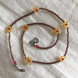 Kastane - necklace…brown