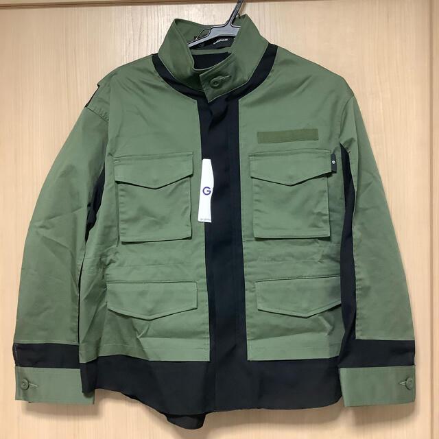 GU(ジーユー)のGU UNDERCOVER ミリタリージャケット カーキ グリーン Lサイズ レディースのジャケット/アウター(ミリタリージャケット)の商品写真