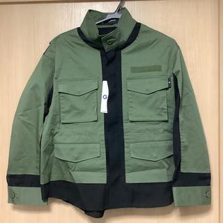 ジーユー(GU)のGU UNDERCOVER ミリタリージャケット カーキ グリーン Lサイズ(ミリタリージャケット)