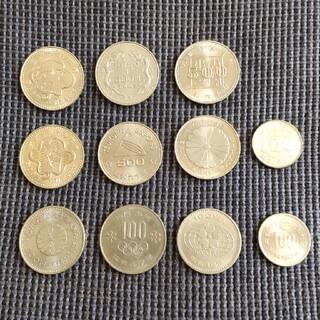記念硬貨 11枚(貨幣)